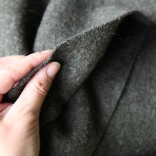 Kochwolle Walkloden 100% Wolle Trachten Khaki Schlamm Mittelalterstoff Wollstoff