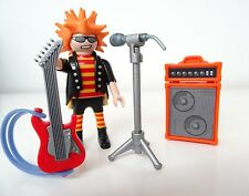 Playmobil chanteur/Rock Star/Musiciens/Punk Rocker/limitatifs personnage/Custom