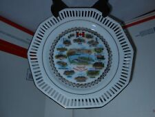 "Vtg Worlds Fair Expo 67 Montreal Canada Reticulated 7 1/2"" Dish Western Germany"