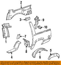 GM OEM Quarter Panel-Outer Wheel well Left 15645933