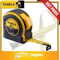 Stabila Tape Measure 8m x 25mm Spikes BM40 17745