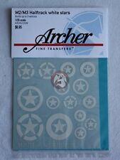 Archer 1/35 M2 / M3 Half-track White Stars (builds 3 vehicles) AR35225W