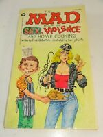 Mad Magazine Paperback MAD BOOK SEX VIOLENCE & HOME COOKING 1983 1st print