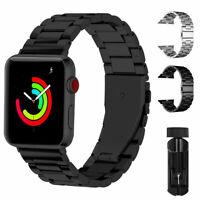Bracelet acier inoxydable montre-bracelet pour Apple iWatch Series 4 3 2 1 42mm