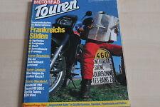 152550) Honda NX 250 vs Suzuki GS 500 E vs Tuareg 600 - Motorrad Touren 03/1989