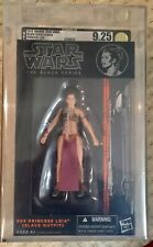 Star Wars - Black Series - Leia (Slave Outfit) (2013) - AFA 9.25 Uncirculated