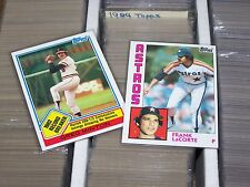 1983 & 1984 Topps, OPeechee, Oddball sets Complete Your Set You Pick 20 Lot NRMT