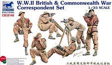 Bronco 1/35 35140 WWII British & Commonwealth War Correspondent Set