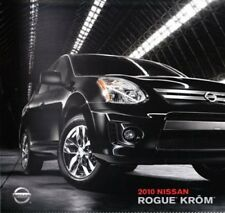 2010 10 Nissan Rogue Krome Edition brochure Mint