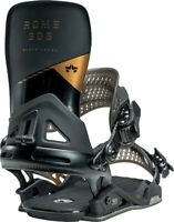 Rome Black Label Snowboard Bindings Men's L/XL Black/Copper (US 10.5+) New 2021