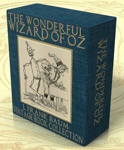 THE WIZARD of OZ, 24 Vintage Books + 883 Hi Res Images on DVD-Rom L. Frank Baum
