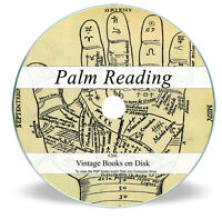Old Palmistry Books on DVD - Palm Hand Reading Occult Future Fortune Telling 266