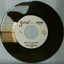 Carter Brothers • Booze In The Bottle • Original blues 45rpm.