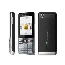 Sony Ericsson J105i Naite Silver Black (Unlocked) Mobile Phone 3G - Grade A