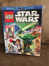 Lego Star Wars The Padawan Menace Young Han Solo Exclusive Minifig DVD/BLU-RAY