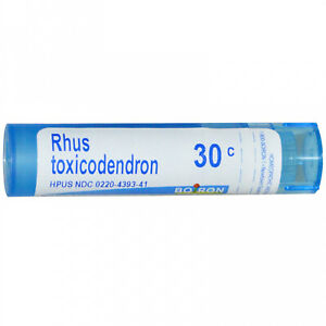 Boiron, Single Remedies, Rhus Toxicodendron, 30C, 80 Pellets