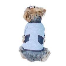 Artículos de color principal gris de algodón para perros
