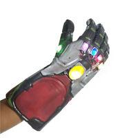 Iron Man Infinity War Gauntlet Gloves Marvel Avengers 4 Endgame w/LED Light