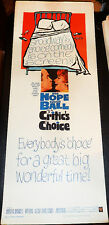 CRITICS CHOICE! '63 BOB HOPE, LUCY BALL CLASSIC ORIGINAL INSERT FILM POSTER!