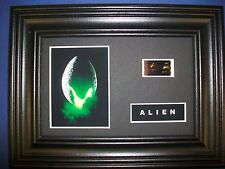 ALIEN Framed Movie Film Cell Memorabilia Compliments poster dvd vhs