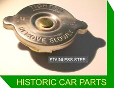 RADIATOR CAP STAINLESS STEEL for MG MIDGET Mk 1 948cc 1098cc 1961–1964