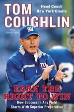 TOM COUGHLIN-Earn the Right To Win with David Fisher (NY GIANTS Head Coach)- NEW