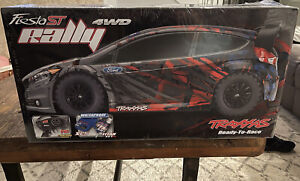 Traxxas Fiesta ST Rally Car NIB
