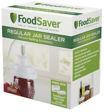 FoodSaver Regular Mouth Jar Vaccum Sealer Kitchen Accessory Food Storage Saver