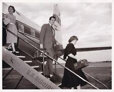 ROCK HUDSON & Wife Original CANDID Nairobi Kenya Vintage 1956 MGM DBW Photo