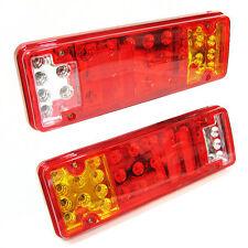 31 luces de cola trasero LED camión transportador de Remolque de Camión Van Caravana Set 12v