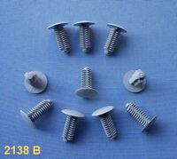 10x Verkleidung Clips Befestigung Klips Halter Universal  9mm grau 2138 B  78A