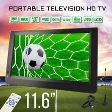 11.6'' Digital Television Portable HD TV 1080P TFT LED DVB-T2 12V Player MP4 MP3