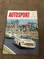 MARCH 4 1966 AUTOSPORT vintage car magazine