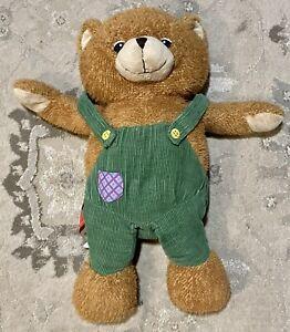 "Vintage Corduroy Bear Stuffed Animal Plush ZOOBIES 20"""
