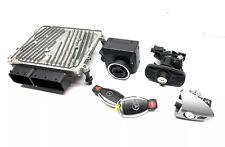 W204 MERCEDES 2009 C300 KEY SET ECU ENGINE MODULE Trunk Door Ignition Lock Keys