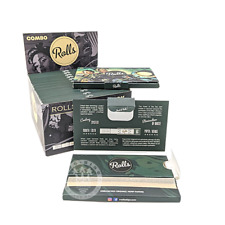 More details for rolls 69 combo pack unbleached organic papers with smart filter