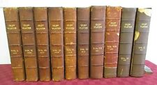 OLDE ULSTER 1905-1914 Ulster County NY History & Genealogy, 10 Vol Set, Leather