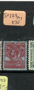 FALKLAND ISLANDS  (PP1903B)  KGV ,PENGUIN  2/6    SG 123V    MOG