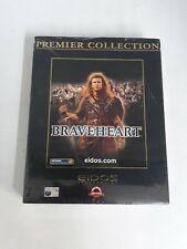 Braveheart (PC: CD-ROM Windows) Big Box Eidos Premier Collection 1998