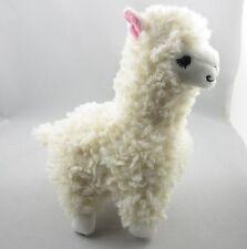 Lovely Alpaca Llama Plush Toy Japan Animal Children Doll 23cm High Creamy White