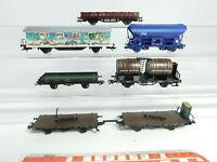 BD2-1# 6x H0/AC Güterwagen: DB+NS+K.W.St.E.+K.Bay.Sts.B. (Märklin/Roco), 2. Wahl
