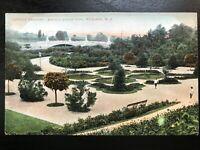 Vintage Postcard>1901-1907>Terrace Gardens>Branch Brook Park>Newark>N.J.