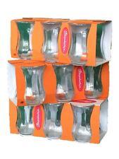 Teeglass Optik 12 er Pasabahce Türkisch Teegläser Cay Bardagi Tee