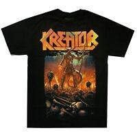Kreator Warrior Shirt S-XL T-shirt Thrash Metal Band Official Tshirt