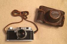 Canon IIF EP Vintage 35mm Rangefinder Camera Leica L39 Screw Mount 50mm OE Lens