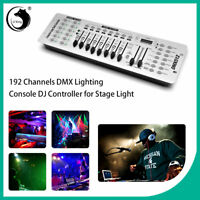 DMX512 192Channel Operator Console Controller For Stage Lighting Disco DJ Party