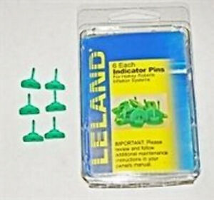 GREEN INDICATOR PINS FOR INFLATABLE PFDs. LELAND. Best Price