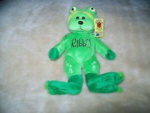 Beanie Kid  LEAP THE FROG NMT  BK 317 Tag Error Born in 2000 Leap Year