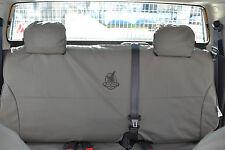 BLACK DUCK CANVAS SEAT COVERS - Mitsubishi Triton MN GLX, GLR