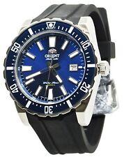 Orient Sporty FAC09004D0 Blue Dial Black Rubber Band Men's Watch